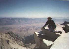 Mt Whitney ledge